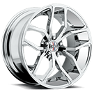 Foose Wheels<br /> F148 Outkast Chrome