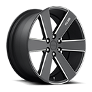 Foose Wheels<br /> F158 Switch Black Milled