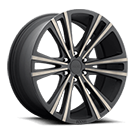 Foose Wheels<br /> F160 Wedge Black Machined