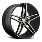 Foose Wheels<br /> F156 Stallion Black Machined