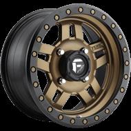 Fuel Wheels<br /> D583 Anza Matte Bronze w/ Black Ring