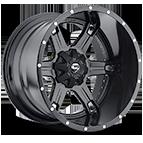 Fuel Wheels <br /> D256 - Driller Black