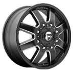 Fuel Wheels <br /> D538 - Maverick Black- Front