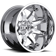 Fuel Wheels <br /> D508 Octane Chrome Plated