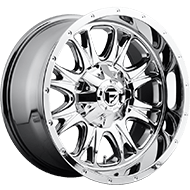 Fuel D512 Throttle Chrome Wheels