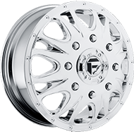 Fuel Wheels <br /> D512 -  Front - Throttle Chrome