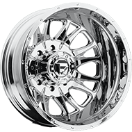 Fuel Throttle D512 Dually Rear Chrome Wheels