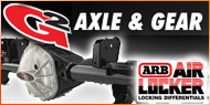 Dana 44 Rear Axle Assembly <br> ARB Air Locker