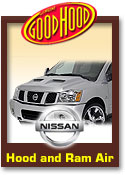 Nissan Good Hood Hoods and Ram Air Kits