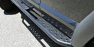 GenRight Rocker Guards with Sidebars<br /> XJ Cherokee