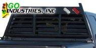 Go Industries<br /> Heavy Duty Lighted Headache Racks Black