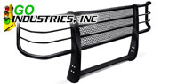 Go Industries<br /> Rancher Grille Guard Black
