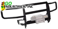 Go Industries<br /> Winch System Grille Guard Black