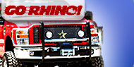 Go Rhino Winch Guard <br>with Brush Guards