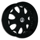 Giovanna Wheels<br> 710 Black