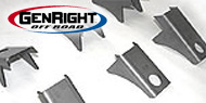 GenRight Body Mount Lift Kits