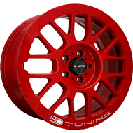HD Wheels <br/>Gear All Gloss Red with Milled Lip