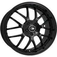 HD Wheels <br/>MSR All Satin Black