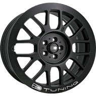 HD Wheels <br/>Gear All Satin Black with Milled Lip