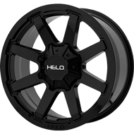 Helo HE909 Gloss Black Wheels
