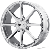 Helo Wheels<br /> HE870 Chrome