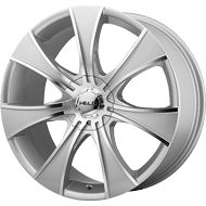 Helo Wheels<br /> HE874 Dark Silver