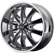 Helo Wheels<br /> HE875 Chrome Gloss