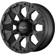 Helo Wheels<br /> HE878 Satin Black