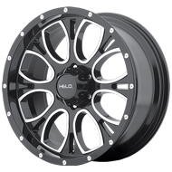 Helo Wheels<br /> HE879 Gloss Black