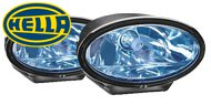 Hella FF 50 Blue Driving Lamps