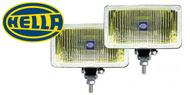 Hella 550 Amber Fog Lamps Halogen