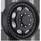 Vision Wheels <br>181 Hauler Duallie Matte Black - Front