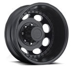 Vision Wheels <br>Hauler Dually 181 Matte Black Rear