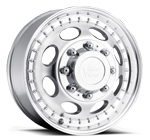 Vision Wheels <br>Hauler Dually 181 Machine Front Clear Coat