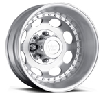 Vision Wheels <br>Hauler Dually 181 Machine Silver