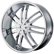 Helo Wheels<br /> HE868 Chrome