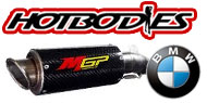 HotBodies Street Bike MGP Growler Exhaust BMW