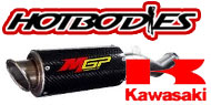 HotBodies Street Bike MGP Growler Exhaust Kawasaki