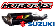HotBodies Street Bike MGP Growler Exhaust Suzuki