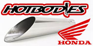 HotBodies Megaphone Slip On Exhaust Honda