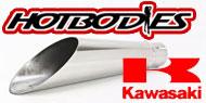 HotBodies Megaphone Slip On Exhaust Kawasaki