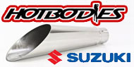 HotBodies Megaphone Slip On Exhaust Suzuki