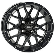 ITP Hurricane Gloss Black Wheels
