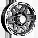 Ion Wheels<br> 133 Black/Machined
