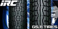 IRC GS 11 Tires