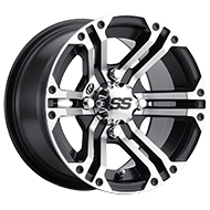 ITP SS Alloy 212 Machined Black Wheels