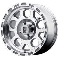KMC XD122 Enduro Race Machined w/ No Clear Coat Wheels