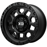 KMC XD132 RG2 Satin Black Wheels