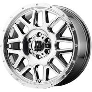 KMC XD820 Grenade Chrome Wheels