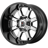 XD  WHEELS Buck 25 PVD Center w/ Gloss Black Lip